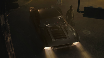 Photos of the iconic Batmobile released from the set of 'The Batman'