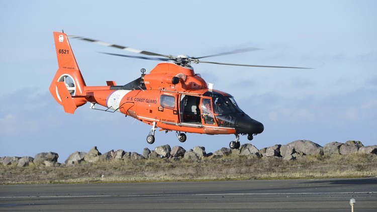 Hiker rescued after falling from cliff on the Oregon Coast