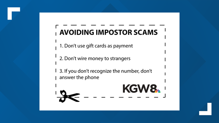 Avoiding Impostor Scams