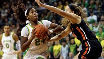 No. 4 Oregon holds off No. 7 Oregon State 76-64