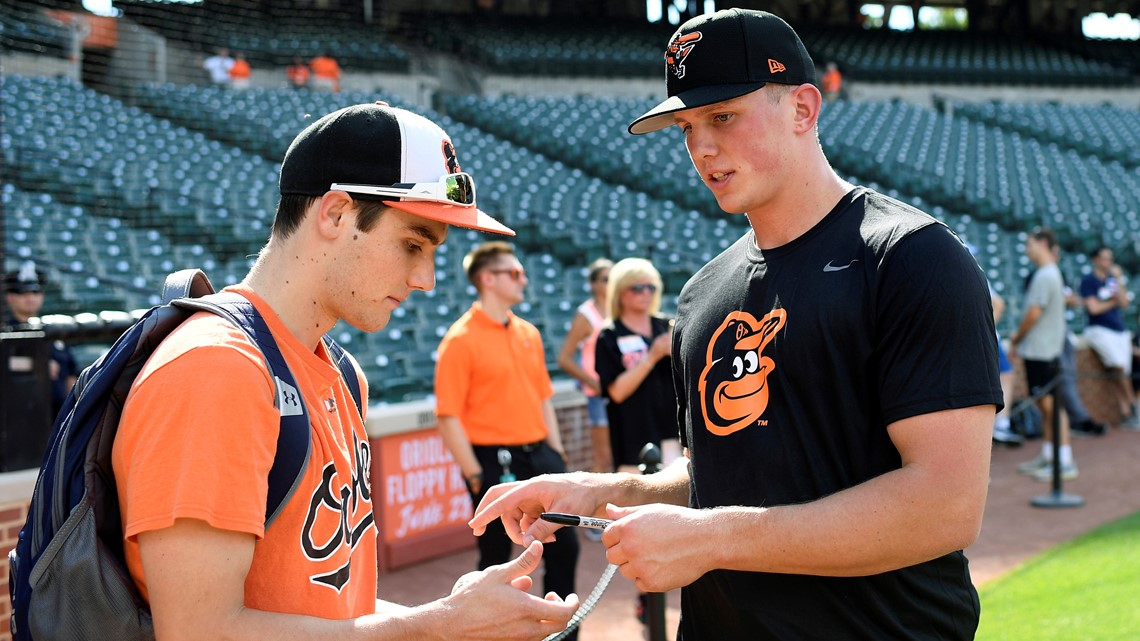 Eyeing the future, Orioles introduce No. 1 pick, former Oregon State star Adley Rutschman