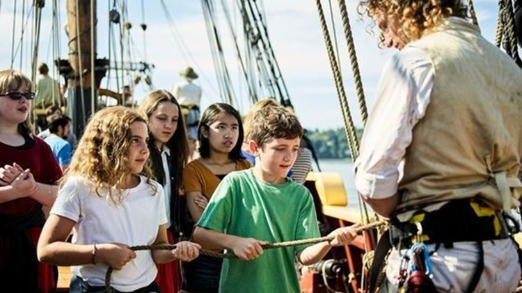 Education at Grays Harbor Historical Seaport. (Photo: Copper Carras)