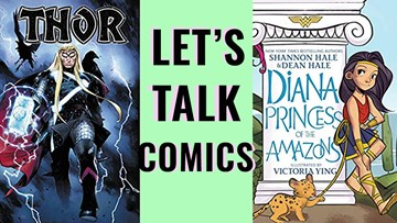 Let's talk comics! What you should pick up at the comic shop this week