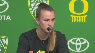 Sabrina Ionescu talks about returning to Oregon