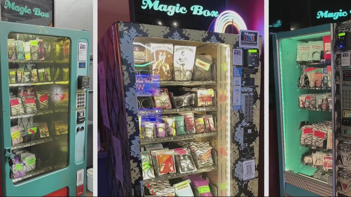 Pop-up vending machines around Portland offer eclectic selection