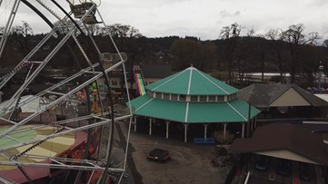 DRONE: Oaks Park temporarily closed amid coronavirus pandemic