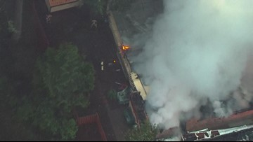 Sky8: Tippy Canoe restaurant a total loss after fire