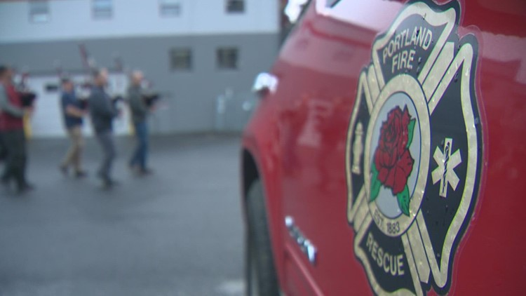 Portland Firefighters Pipes and Drums band is thriving