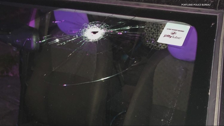'I think it's sad what's happening': Woman and son nearly shot while driving in SE Portland