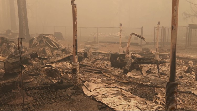 High cost of lumber, building materials halts rebuilding for some Oregon wildfire survivors
