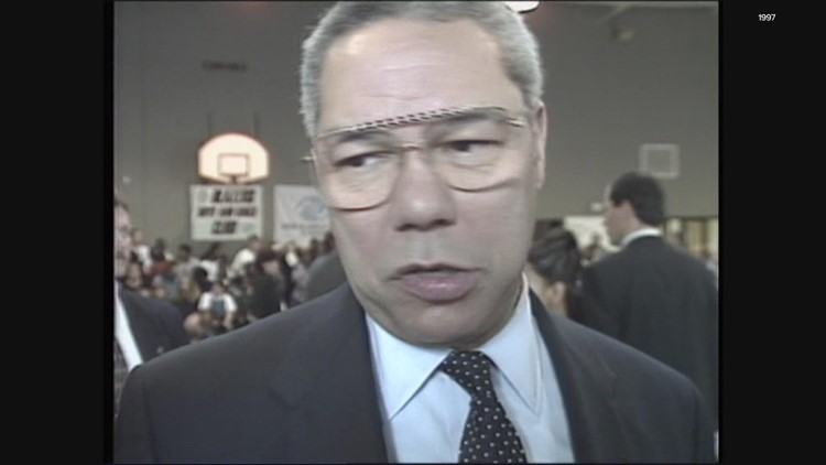 KGW Vault: Colin Powell in Portland in 1997
