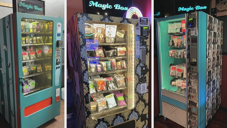 Quirky vending machines rebound in Portland after COVID closures, expand to Astoria, Las Vegas