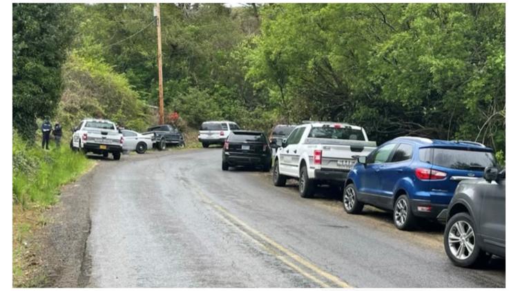 Two men found dead on side of road in Tillamook County