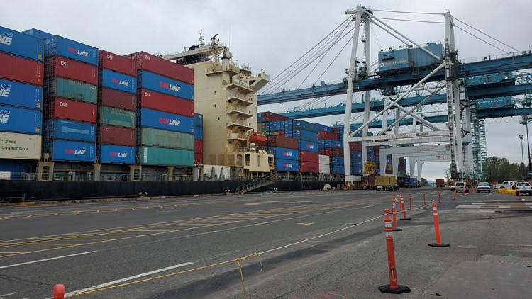 Shipping lines expand service to Port of Portland's Terminal 6
