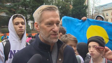 Full interview: Portland Mayor Ted Wheeler reacts to students marching for Global Climate Strike