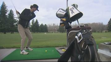 Kids earn college scholarships as golf caddies