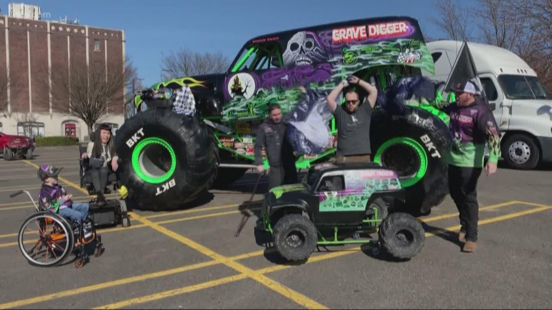 Oregon Boy Gets Monster Truck Wheelchair Costume Kgw Com