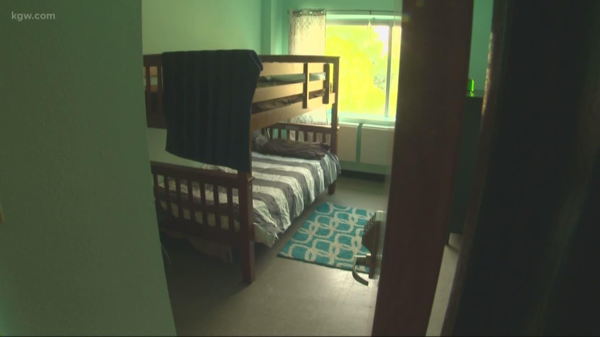 Inside a Portland shelter for migrant children