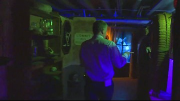 RAW video: Walk through the Oregon School for the Deaf Nightmare Factory in Salem