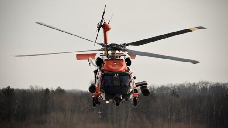 Coast Guard rescues injured hiker on Saddle Mountain