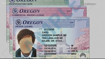 new resident oregon drivers license