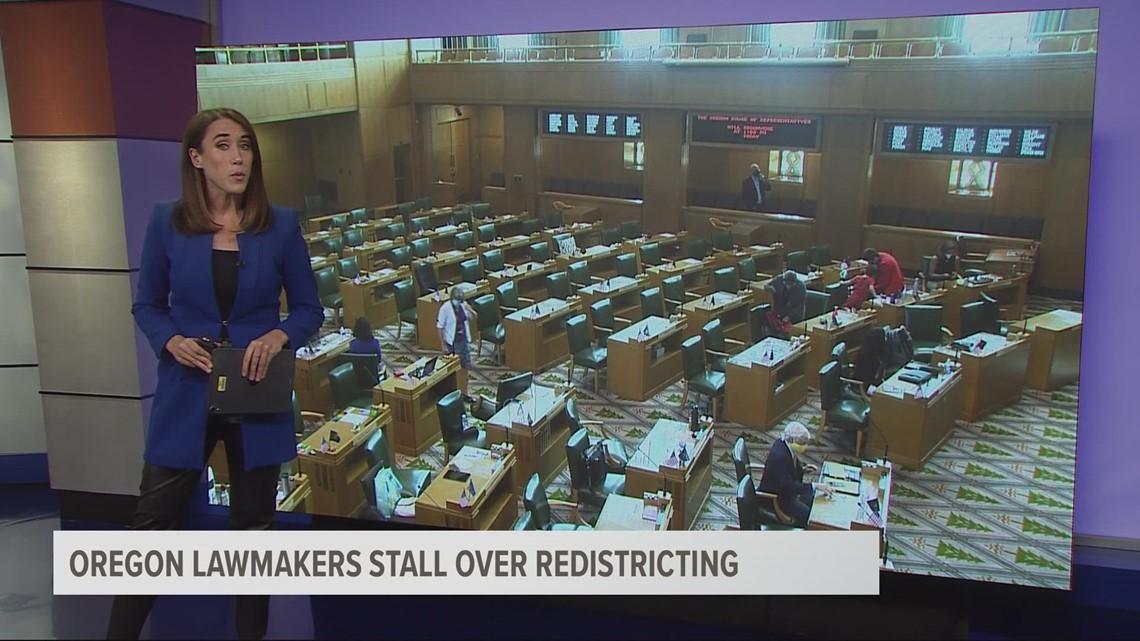 Oregon GOP boycotts redistricting vote