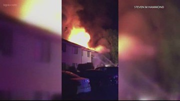 1 in critical condition, tenants rescue each other in Salem apartment fire