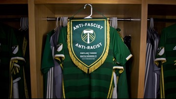 Timbers Army silent for 33 minutes in game against Sounders to protest ban of anti-fascist symbol