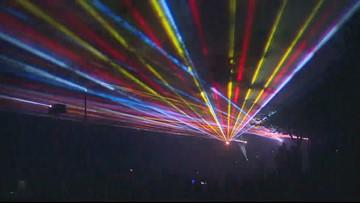 Watch: Lake Oswego Fourth of July laser show