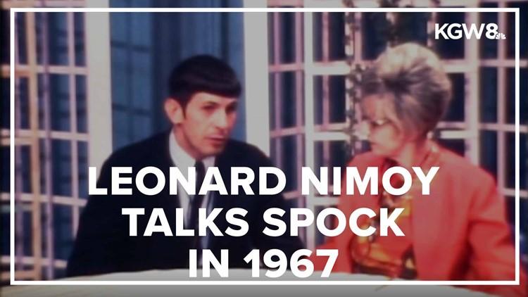KGW Vault: Leonard Nimoy talks Spock in 1967