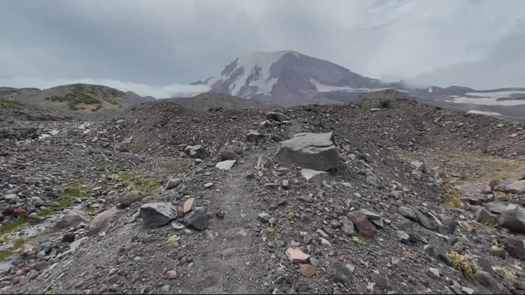 Let's Get Out There: Matt Zaffino backpacks Mt. Adams