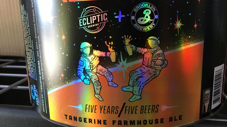 Ecliptic Brewing label