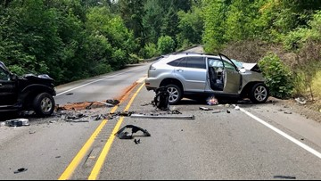 Two die in Marion County crash, including mother of 4-year-old boy who survives