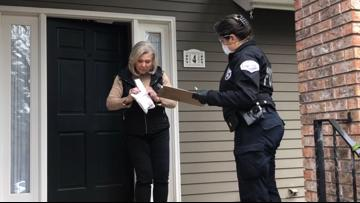 'It has been a godsend': Police deliver prescriptions to seniors, at-risk residents