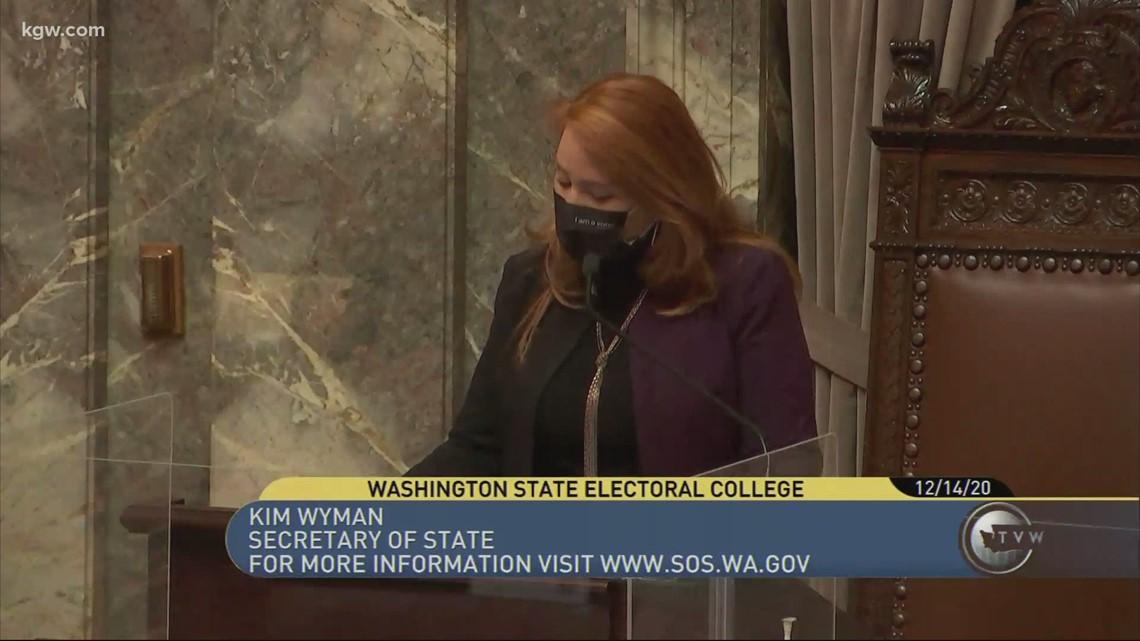 Oregon and Washington electors cast their ballots