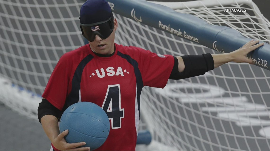 Local goalball players competing in Tokyo Paralympics