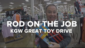 Rod on the Job: KGW Great Toy Drive
