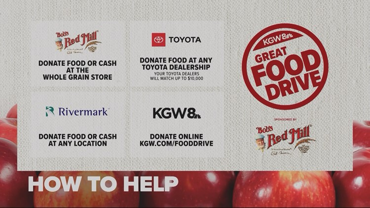 How to help KGW Great Food Drive