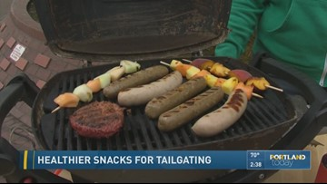 Healthier snacks for tailgating