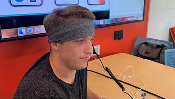 A 'smart headband' for runners is one of 200 inventions at OSU's engineering expo