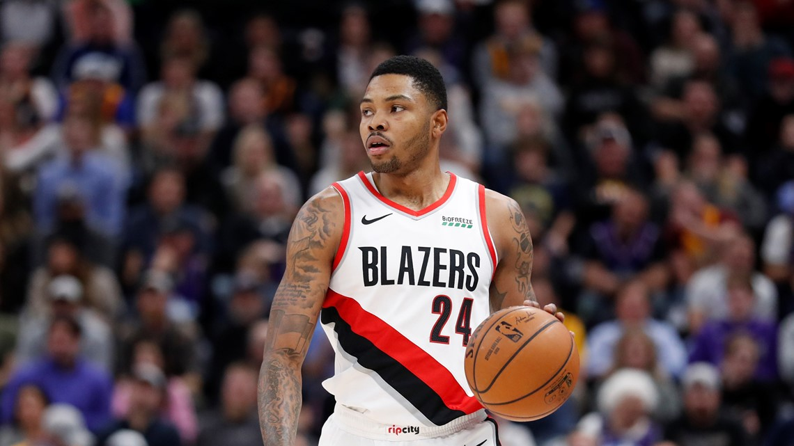 Reports: Blazers trade Kent Bazemore, Anthony Tolliver to Sacramento