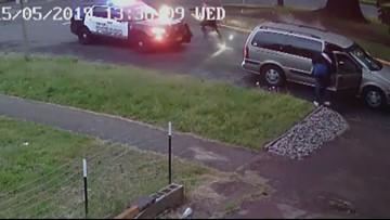 Security cam captures man shooting at Salem officer