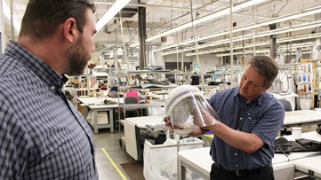 Decades-old Oregon dental supply company A-dec starts producing face shields amid PPE shortage
