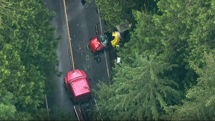 Teen killed in crash on SR 503 in Clark County
