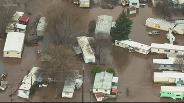 Red Cross, others helping Oregon flood victims