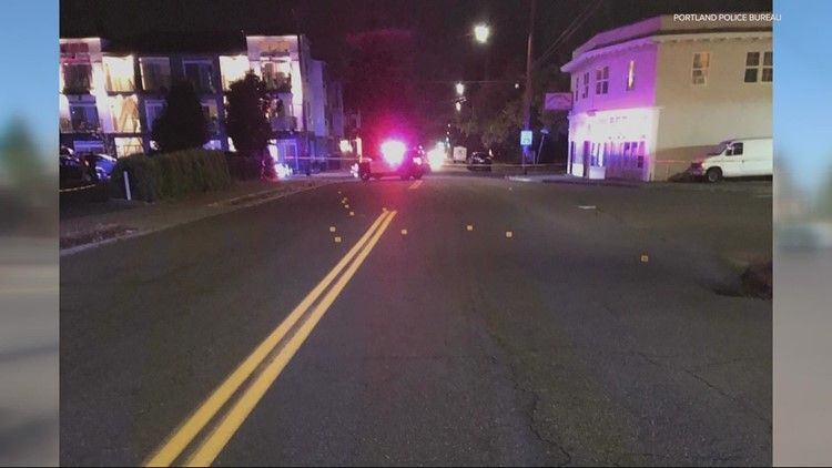 Portland police recover 47 bullet cases from 2 different shootings