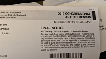 VERIFY: Is this survey from Republican National Committee part of the official US Census?