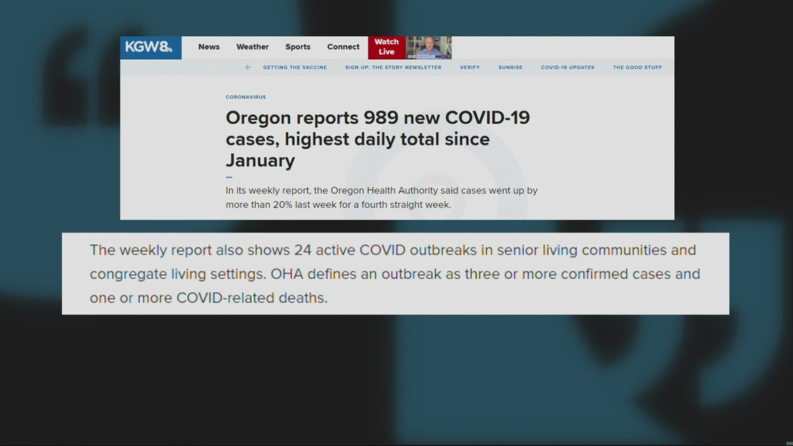 Despite being first vaccinated, COVID-19 still impacting assisted living homes
