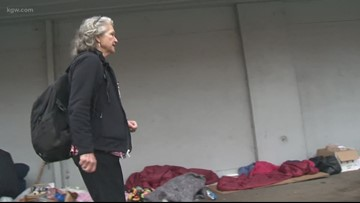 'I can't stop. I can't walk away': Grandma helping Salem homeless receives outpouring of support