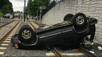 Police investigate two strange rollover crashes in Milwaukie